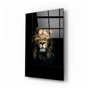 Skleněný obraz Insigne Lion,70x110cm