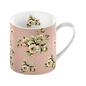 Růžový porcelánový hrnek Creative Tops Cottage Flower, 330ml