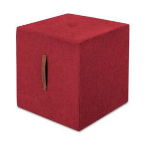 Červený puf Kooko Home Bounce