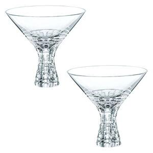 Sada 2 sklenic na koktejly z křišťálového skla Nachtmann Bossa Nova, 340 ml