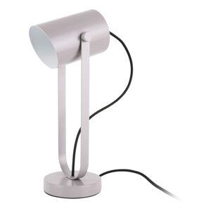 Šedá stolní lampa Leitmotiv Snazzy