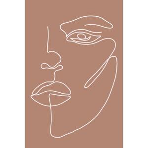 Plakát na kvalitním papíře Veronika Boulová Nora, 29 x 41 cm