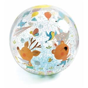 Nafukovací míč s kuličkami Djeco