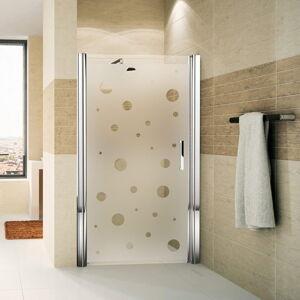 Voděodolná samolepka do sprchy Ambiance Bubbles, 185 x 95 cm