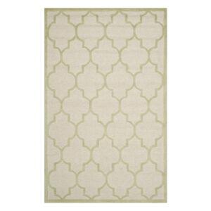 Vlněný koberec Safavieh Everly Cream, 182 x 121 cm