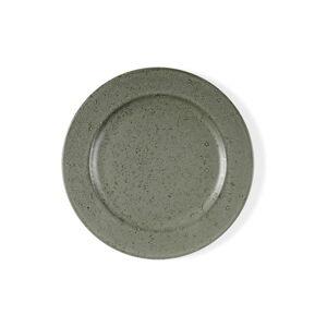 Zelenošedý kameninový dezertní talíř Bitz Mensa, průměr 22 cm