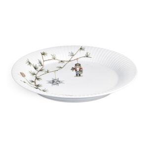 Porcelánový vánoční talíř Kähler Design Hammershoi Christmas Plate, ⌀ 27 cm