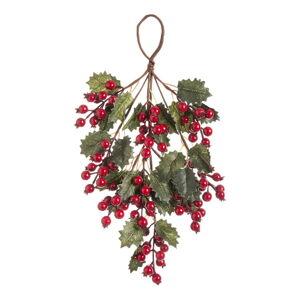 Závěsná vánoční dekorace Unimasa Acebo