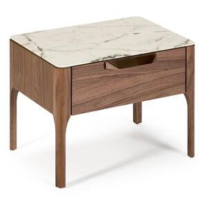 Noční stolek s nohami z ořechového dřeva Ángel Cerdá Jasmine