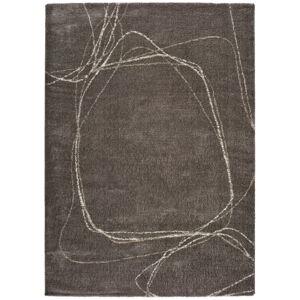 Šedý koberec Universal Moana Treo, 60 x 110 cm