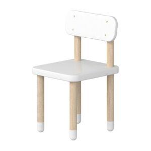 Bílá dětská židle Flexa Dots