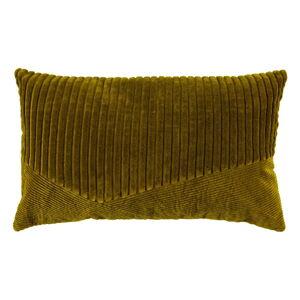 Zelený bavlněný polštář BePureHome, 30 x 50 cm