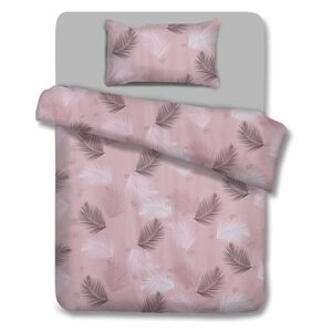 Bavlněné povlečení AmeliaHome Pink Vibes, 135 x 200 cm