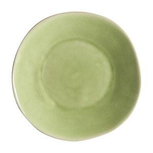 Světle zelený kameninový polévkový talíř Costa Nova Riviera, ⌀ 25 cm