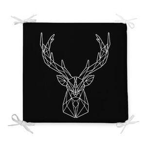 Podsedák s příměsí bavlny Minimalist Cushion Covers Geometric Reindeer,42x42cm