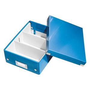 Modrý box s organizérem Leitz Office, délka 28 cm