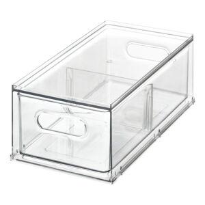 Transparentní úložný box do ledničky iDesignTheHomeEdit, 31,8x17,8cm