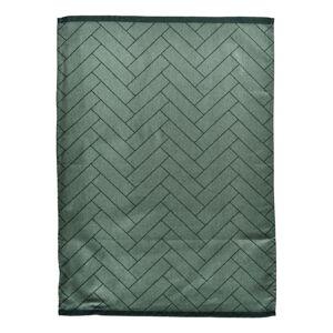 Zelená kuchyňská utěrka z bavlny Södahl, 50x70cm