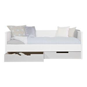 Bílá zásuvka pod postel WOOOD Jade