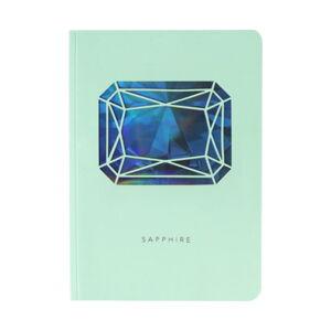 Zápisník A6 Portico Designs Safír, 124stránek