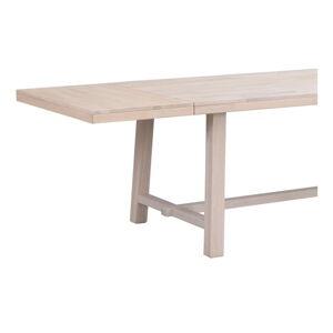 Matně lakovaná dubová přídavná deska jídelního stolu Rowico Brooklyn