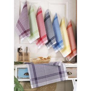 Sada 8 utěrek Pure Cotton Flannel, 50 x 70 cm