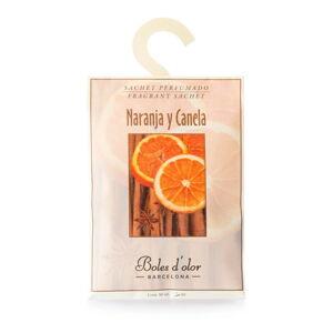 Vonný sáček s vůní pomeranče a skořice Ego Dekor Naranja y Canela