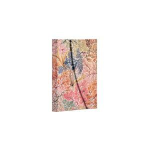 Linkovaný zápisník s tvrdou vazbou Paperblanks Anemone, 10 x 14 cm