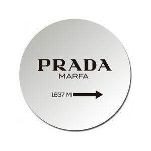 Kulaté zrcadlo Little Nice Things Prada, ø 25 cm