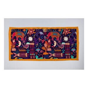 Dámský šátek Madre Selva Electric Animals, 70x50cm