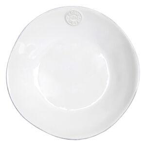 Bílý kameninový polévkový talíř Costa Nova Nova,⌀25 cm