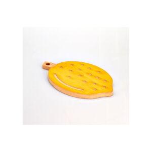 Bukové krájecí prkénko Bisetti Lemon, 21 x 34 cm
