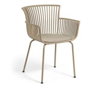 Béžová zahradní židle La Forma Surpika
