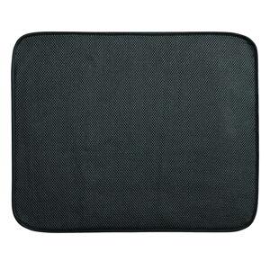 Černý kuchyňský odkapávač iDesign iDry, 16x28cm