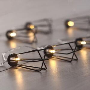 Světelný LED řetěz DecoKing Deer, 10 světýlek,délka1,65m