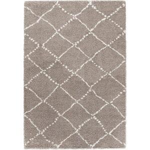 Hnědý koberec Mint Rugs Hash, 80 x 150 cm