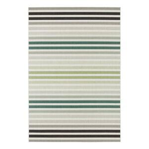 Zeleno-šedý venkovní koberec Bougari Paros, 200 x 290 cm