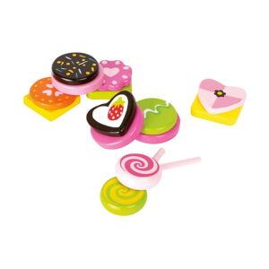 Set dětských dřevěných hraček na výrobu bonbonů Legler Sweets