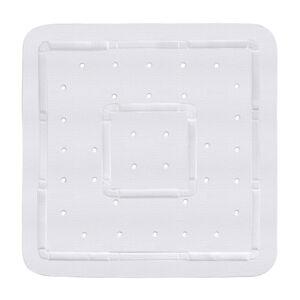 Bílá podložka do sprchového koutu Wenko Florida, 55x55cm