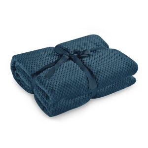 Námořnicky modrá deka z mikrovlákna DecoKing Henry,220x240cm