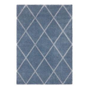 Modro-šedý koberec Elle Decor Maniac Lunel, 160 x 230 cm
