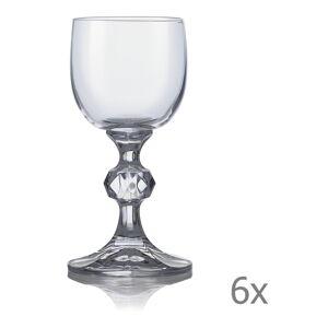 Sada 6 sklenic na likér Crystalex Claudia,50ml