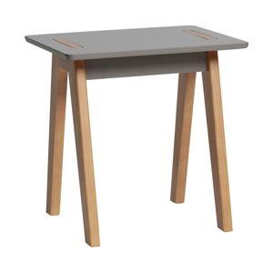 Šedý odkládací stolek Marckeric Dana