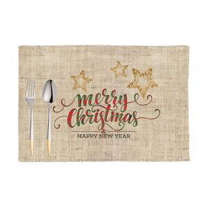 Sada 2 vánočních prostírání Mike&Co.NEWYORK Honey XMas, 33 x 45 cm