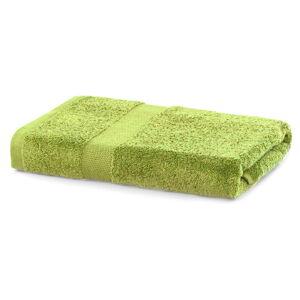 Limetkově zelený ručník DecoKing Marina, 70 x 140 cm