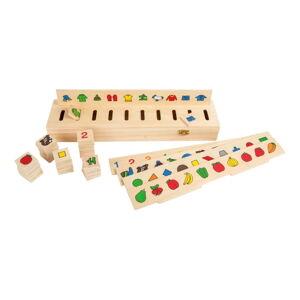 Dřevěný box na třídění obrázků Legler Picture
