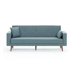 Modrá rozkládací pohovka Balcab Home Ivonne