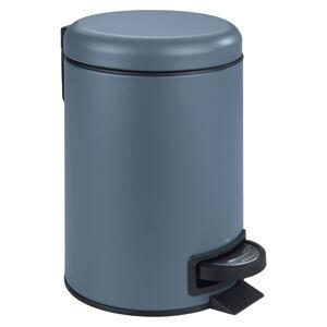 Modrý koš do koupelny Wenko Leman,3l