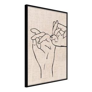 Plakát v rámu Artgeist United, 20 x 30 cm