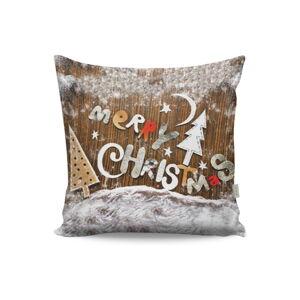 Polštář Merry Christmas, 43x43cm